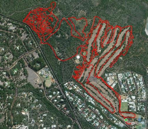 moutain bike map
