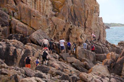 rocky trail run