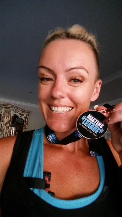sabrina masters medal